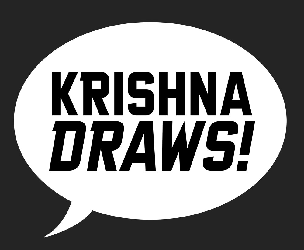 Krishna Draws: Custom Illustrations and Comics for Companies